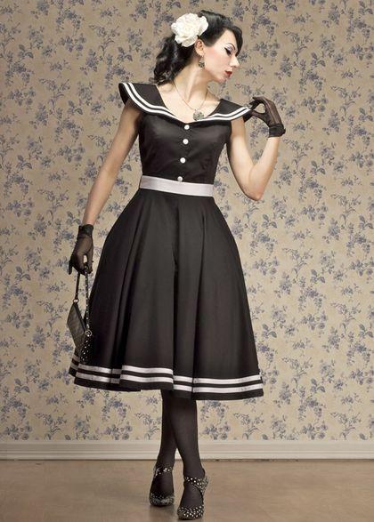 Ретро платья (140 фото): стиль, в горошек, с пышной юбкой, вечерние, с воротником, детские, выпускные, красивые