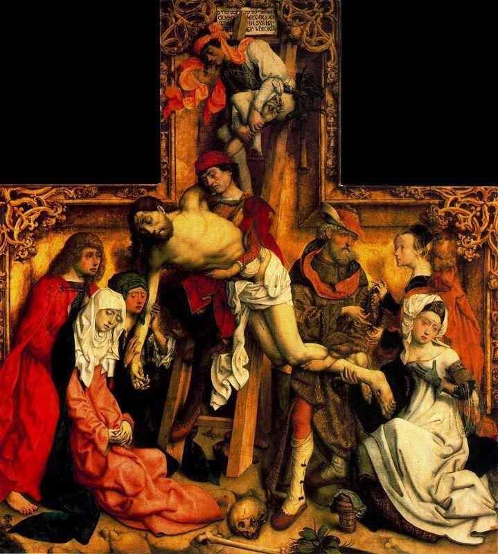 La Pasión de Jesús de Nazaret en el arte: La Piedad y el Descendimiento - Trianarts