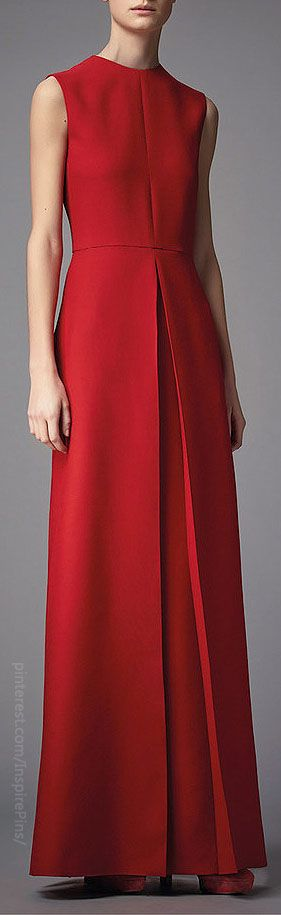 Pre-Fall 2014 Valentino | The House of Beccaria Not the neckline, but love the structure of the skirt bit