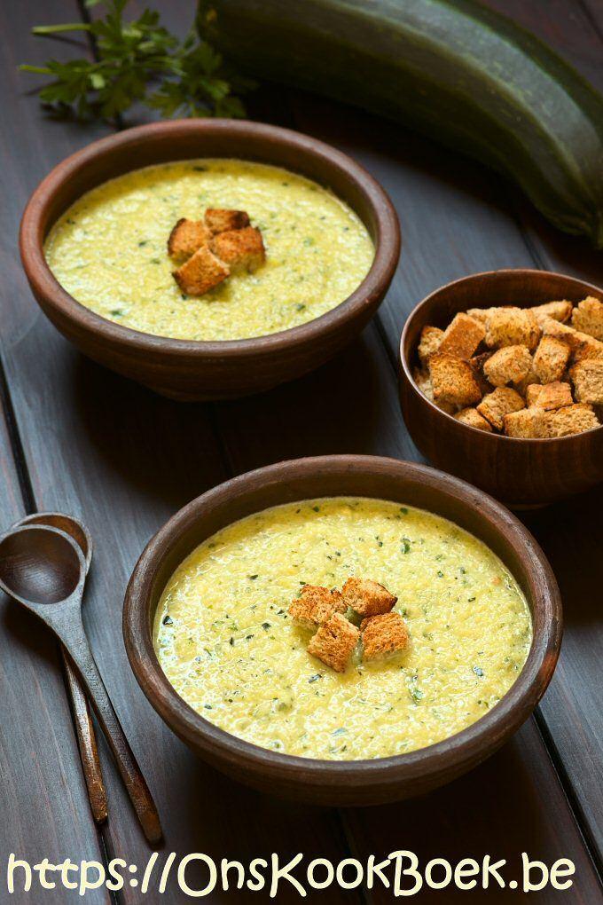 Maak Deze Courgettesoep In 10 Minuten Met Korstjes Soep Soup