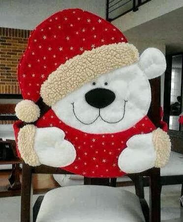 Capa cadeira urso polar