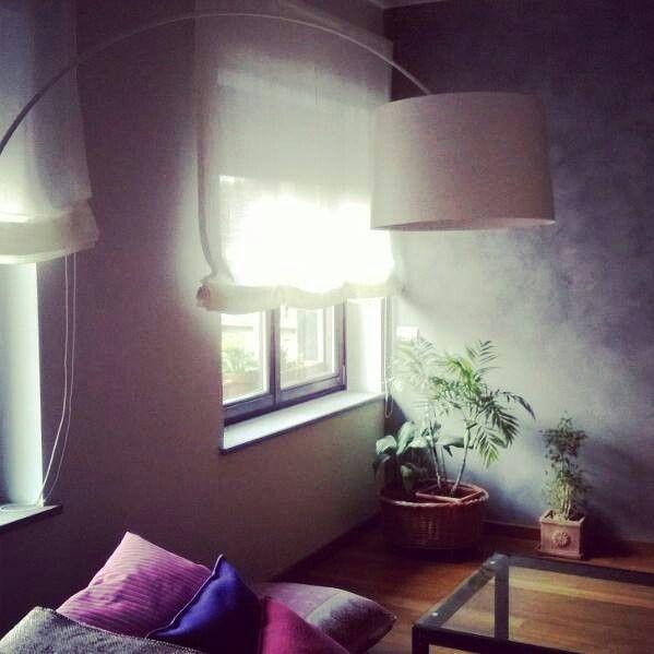 New work in Turin. Private home. White Packet curtain by artex. #work #interiortex #interiordesign #artextile #white