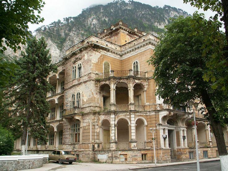 Bucegi Mountains, Romania - Hotel Traian Herculane
