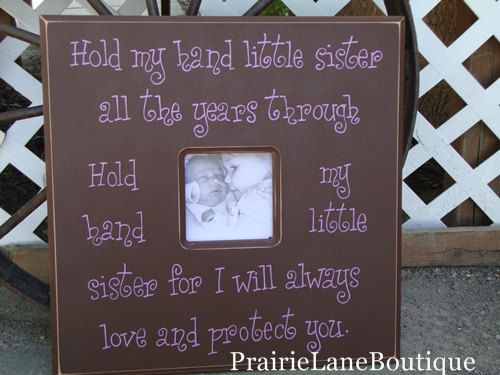 i find this quote so sweet for my little girls room and  her soon to be bond with her brothers!