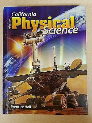 focus on california physical science pdf