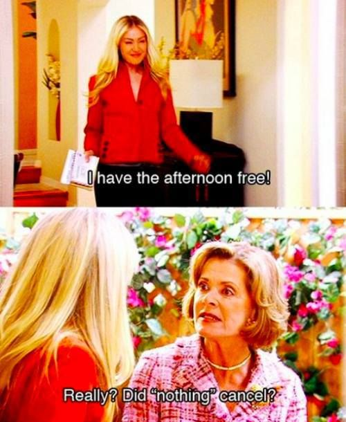 Arrested Development  oh Lucille... how i love you!