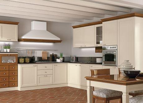 Oltre 25 fantastiche idee su ripiani per cucina su - Cucina color panna ...