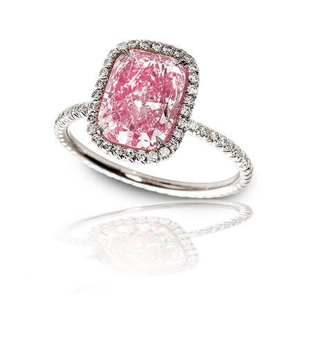 I would be the happiest woman in the world if I had a pink ring
