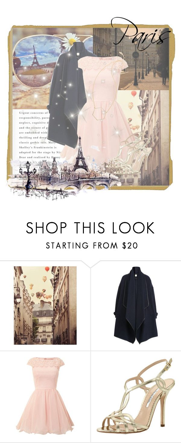 """Paris, France"" by parisinblackandwhite ❤ liked on Polyvore featuring Burberry, Chi Chi, Oscar de la Renta and Marc by Marc Jacobs"