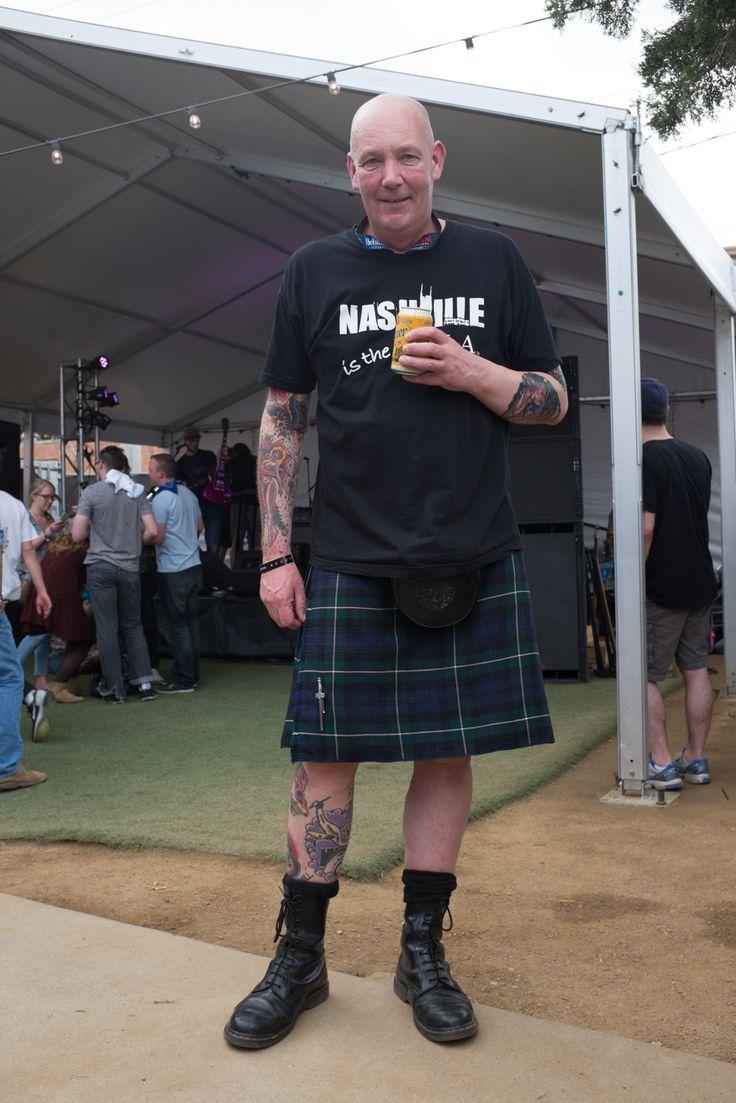 Showgoer at SXSW, wearing black 1490 boots. | Doc Martens ...