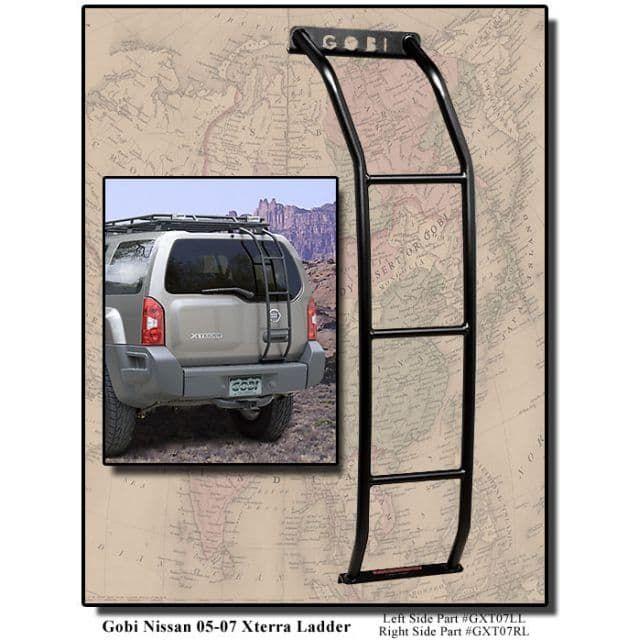 Gobi Nissan Xterra Ranger Roof Rack - 2000-14 - Trail Duty