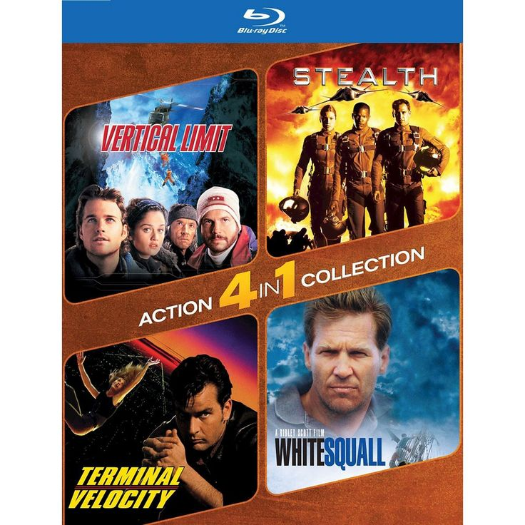 Vertical Limit/Stealth/Terminal Velocity/White Squall [2 Discs] [Blu-ray]