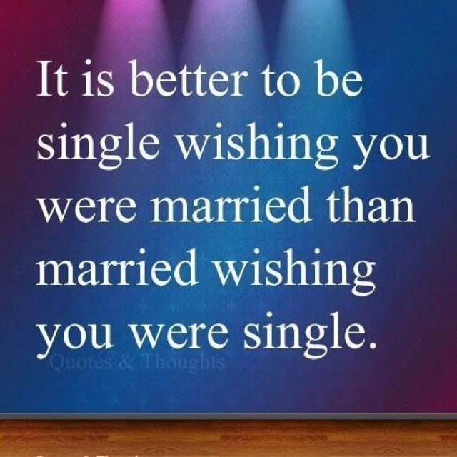 which is better being married or single essay Single vs married: which lifestyle is about the difference between being single and married that is meaning that you might be better off operating with.