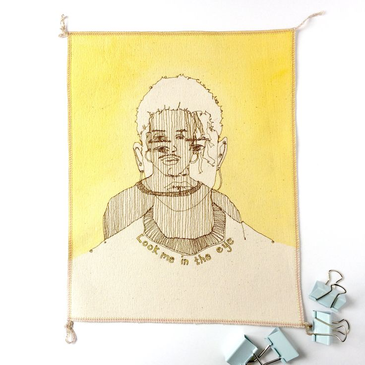 A personal favourite from my Etsy shop https://www.etsy.com/uk/listing/559295915/coworker-gift-embroidered-illustration