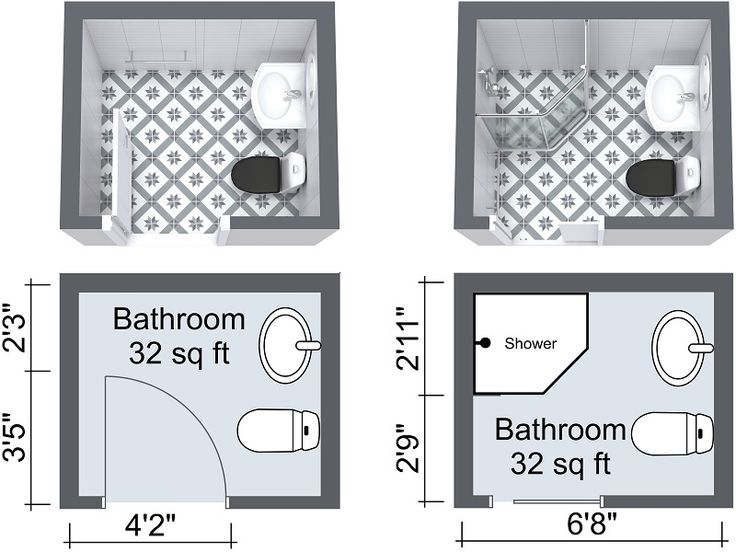 Small Bathroom Options best 25+ small bathroom floor plans ideas on pinterest | small
