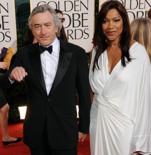 Robert De Niro Family | Mixed Couples – Robert De Niro and Grace Hightower | No More Race