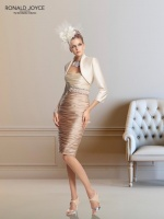 Champagne & nude are HOT colors for mother of the bride/mother of the groom outfits this year.