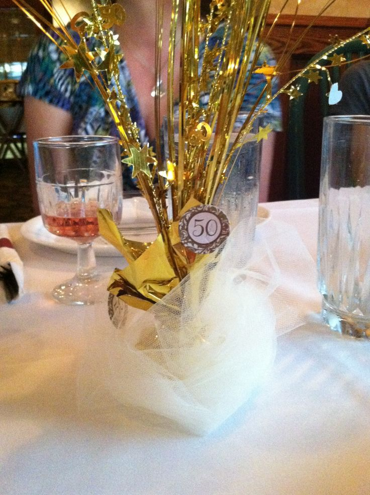 50th Wedding Anniversary Wedding Anniversary And Table Decorations On Pinterest