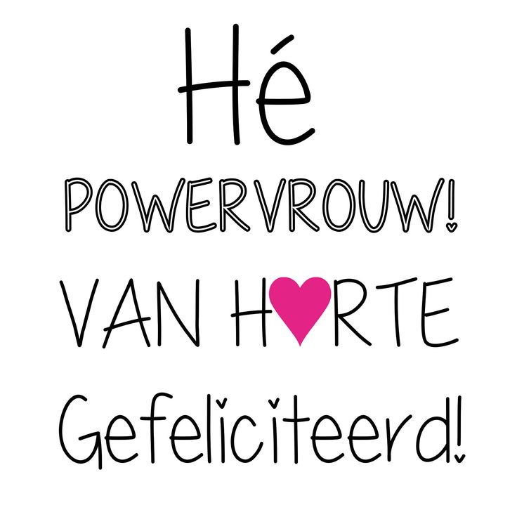 Kaart: Gefeliciteerd! | Piece of Power