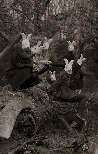 """Bunnyland"" - Photography by Alena Beljakova, 2009."