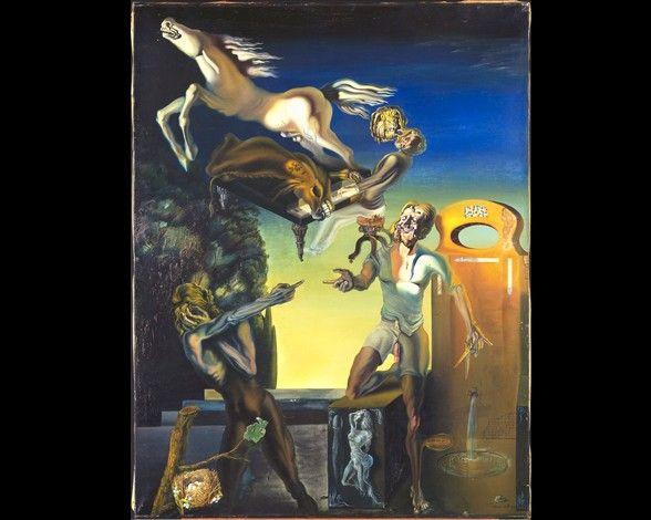 Fotos: Los cuadros más famosos de Salvador Dalí-Guillermo Tell 5388