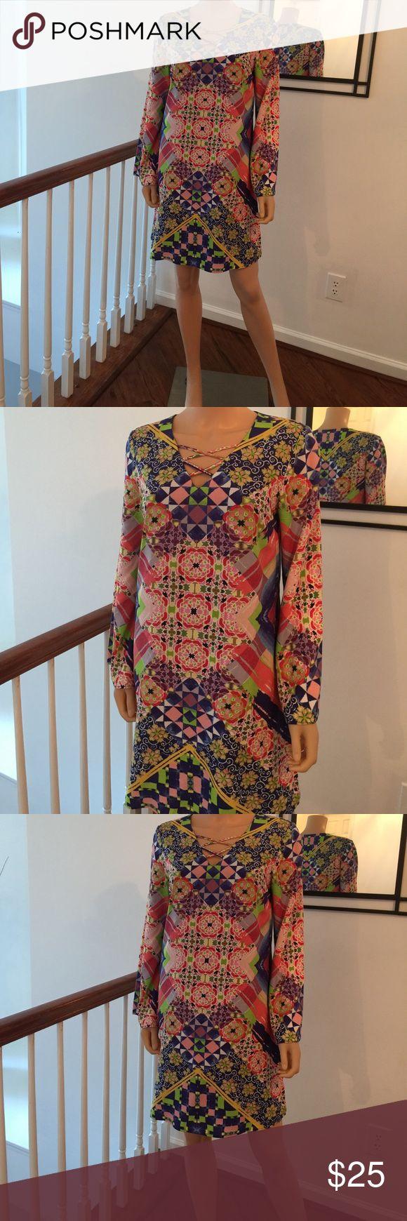 Elegant multi color dress Elegant multi color dress New York & Company Dresses