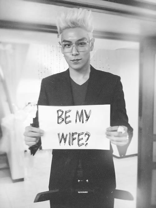 Choi Seung-hyun (최승현) aka T.O.P (탑)  of Big Bang every single K-Pop Fan Girl on the planet would go crazy if this were aimed at them.  LOL