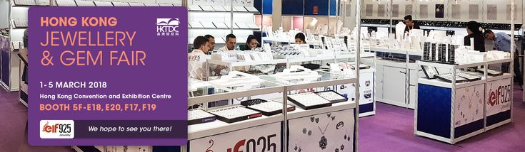 We will be at the Hong Kong Jewellery & Gem Fair again this year. Come by for a chat or to make a selection for an order. We look forward to seeing you there!  #hongkong #jewelry #jewellery #fair #gem #gemfair #jewelleryfair #march #2018 #HKTDC