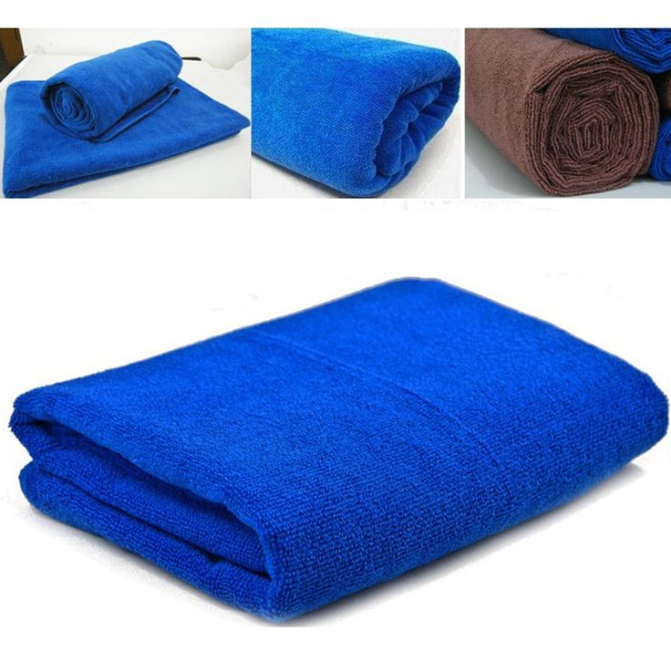 1PC 35*75CM Super Water-absorbing Car Accesories Auto Wash Towel Soft Microfiber Towel Car Cleaning Cloth