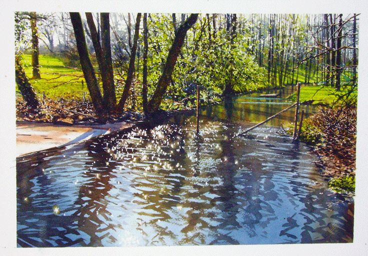 How To Paint Water - visit his site to view this watercolor demonstration...