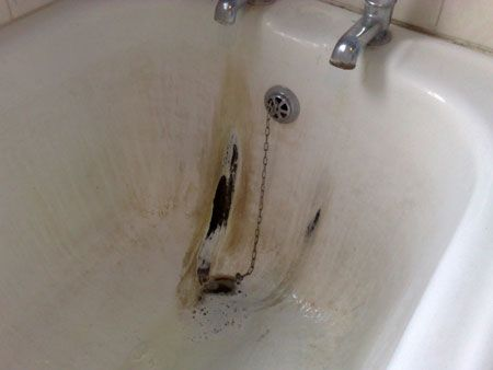 Home-Dzine - Restore ceramic or porcelain bathtub or sink