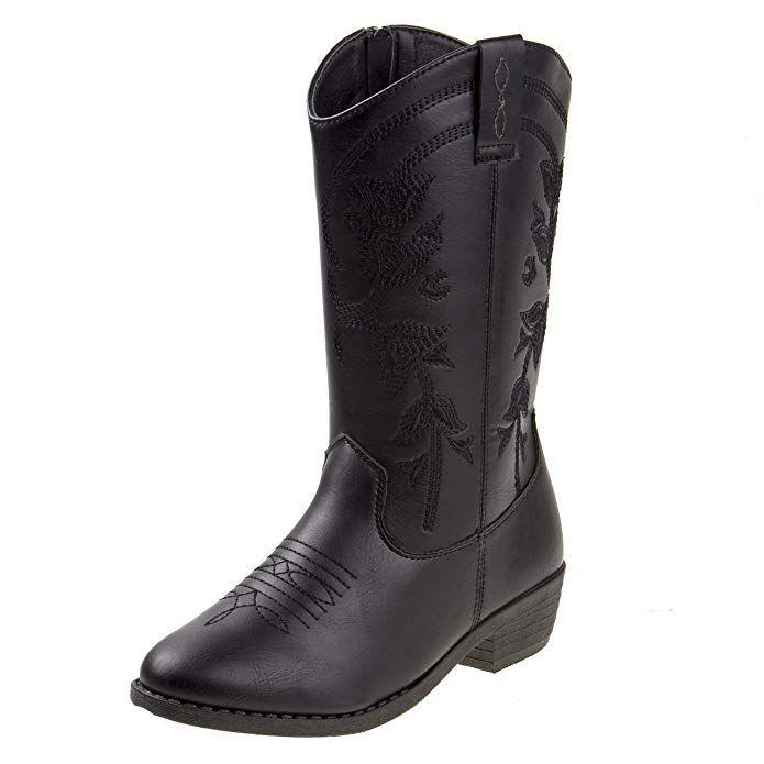 Kensie Girl Girls Western Cowboy Boot