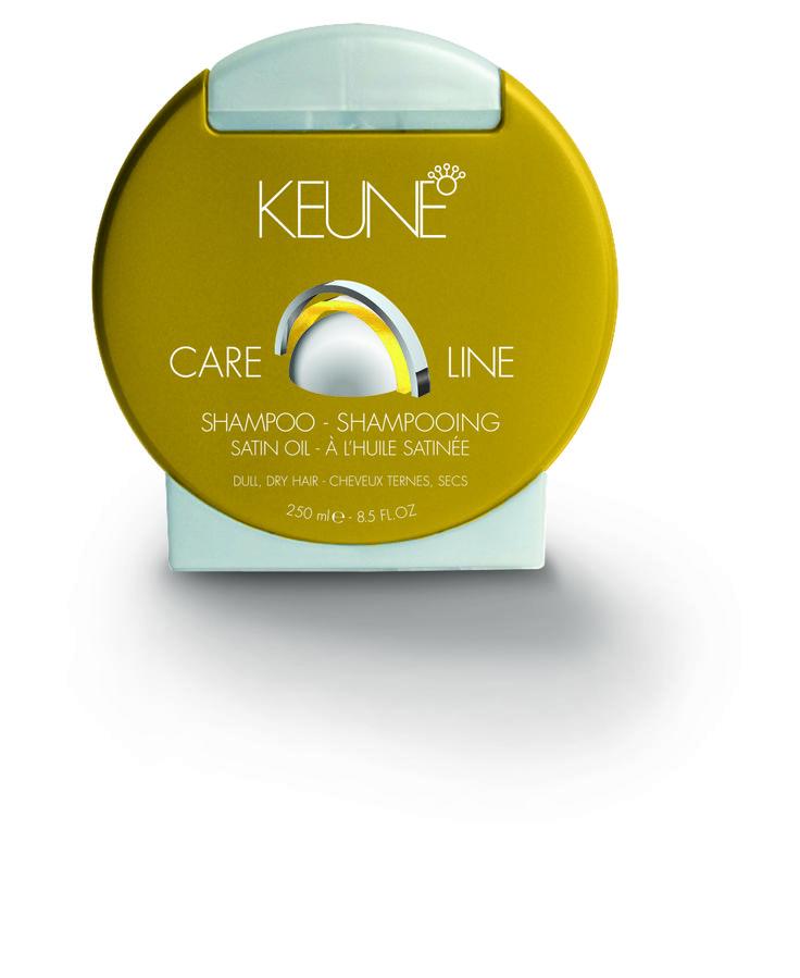 Care Line Satin Oil Shampoo