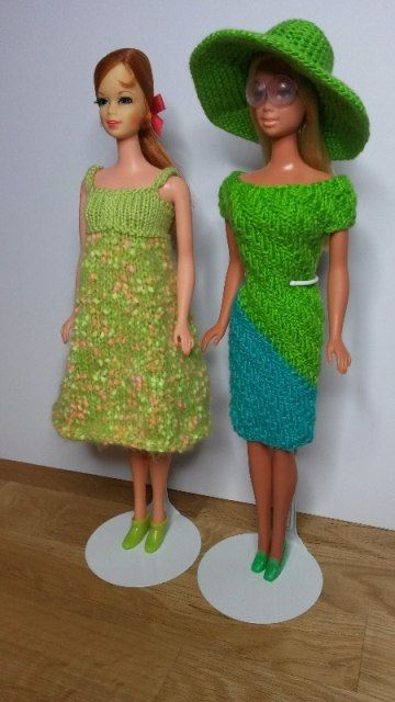 STICKAT – TILL BARBIE - Blogg Free pattern: www.stickatillbarbie.se