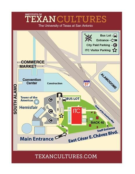 Institute of Texan Cultures student tours