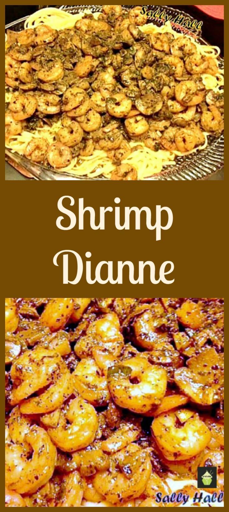 Shrimp Dianne - A wonderful flavored dish, great served as a main on a bed of Angel Hair pasta or as a side with some warm crusty bread!