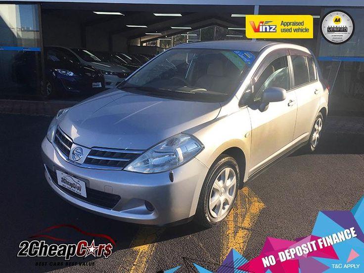 Nissan Tiida 2008 for Sale – Silver | 2 Cheap Cars — NZ