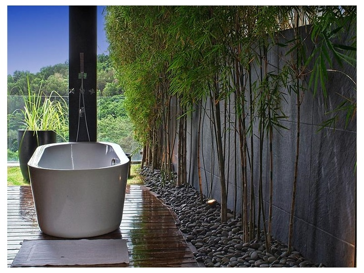 majestic garden villa with indoor outdoor shower in cebu