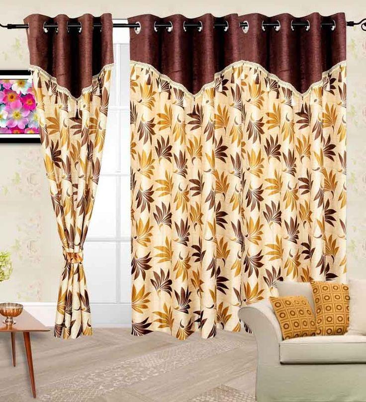 Tenda della finestrapoliestere 150 X 120 CM  WC-2190 | Arts of India – Italy