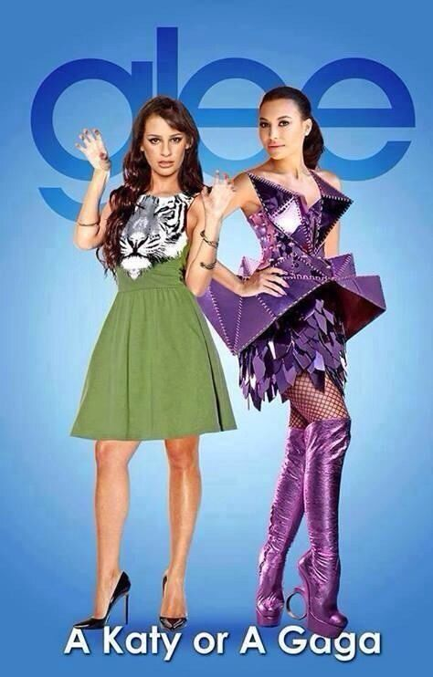 Glee. I don't know is this is real but I like it :)