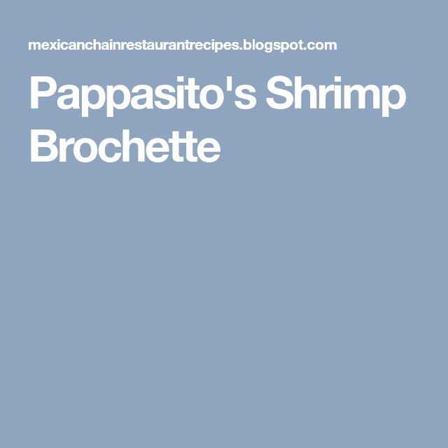 Pappasito's Shrimp Brochette