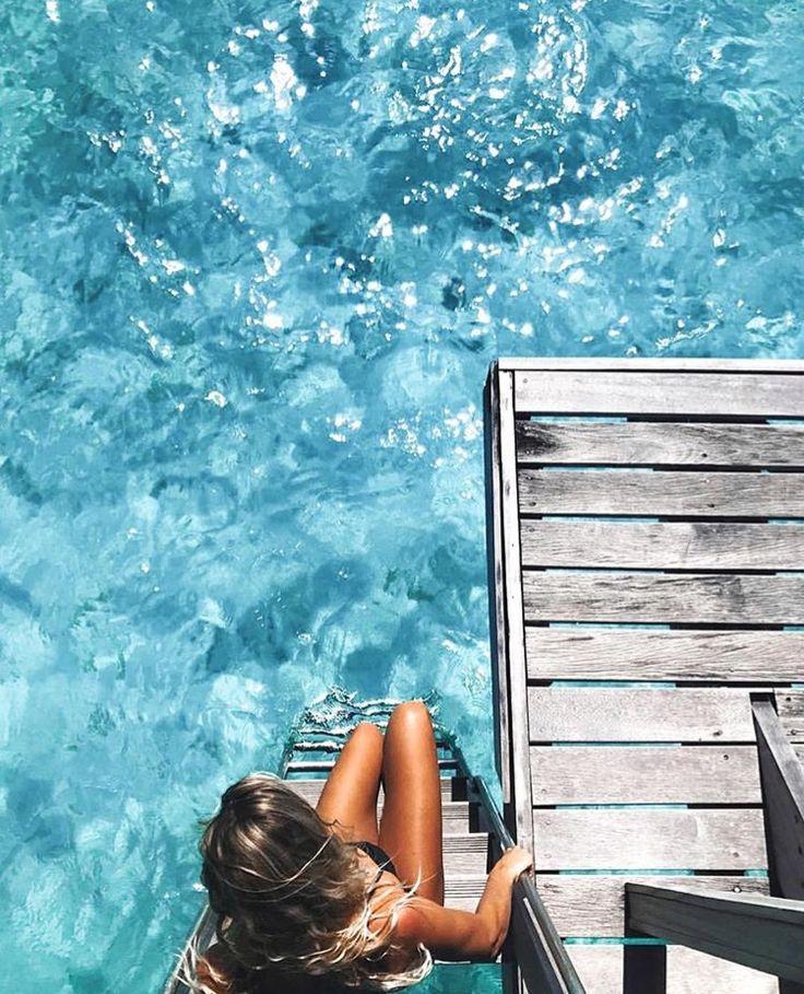 pinterest @lilyosm | jump in!! | travel wanderlust tropical bora bora costa rica ocean tropics jungle hawaii  vacation