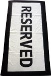 RESERVED beach towel.. This would be the perfect gift for my wife.