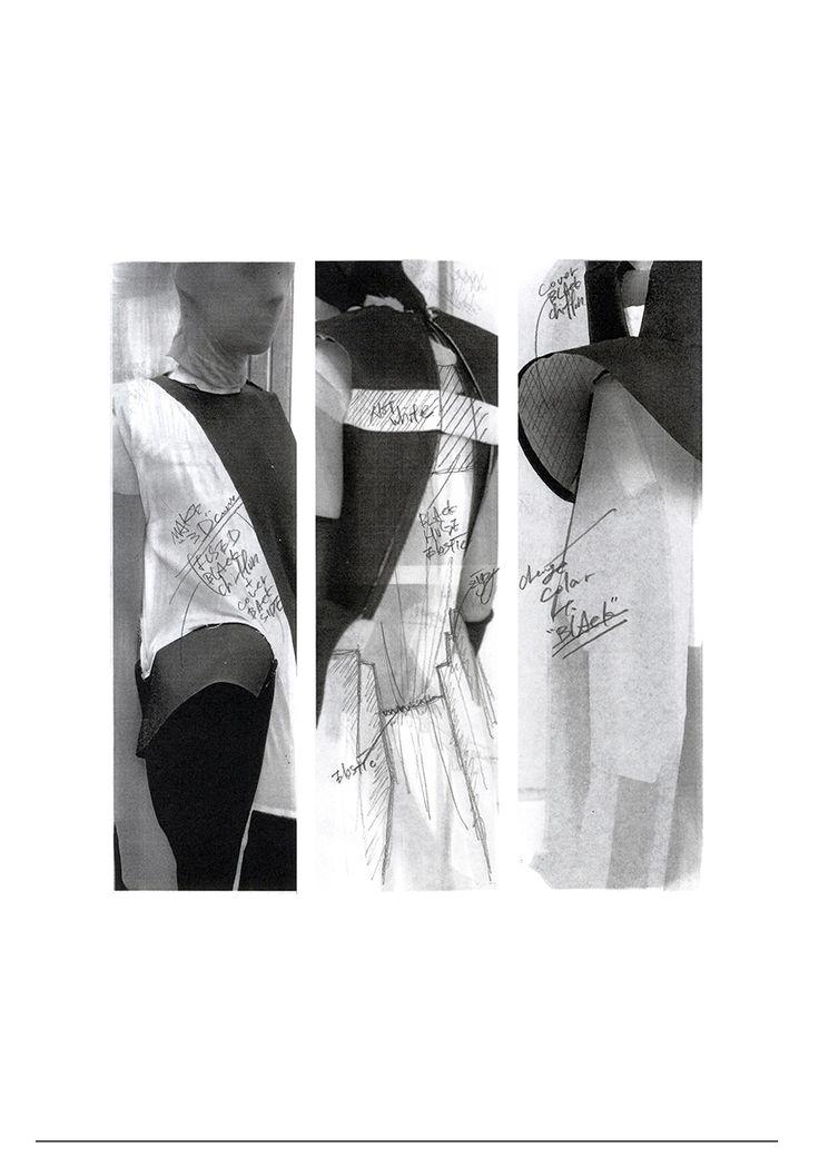 Fashion Sketchbook - fashion design development process; fashion portfolio // Teruhiro Hasegawa