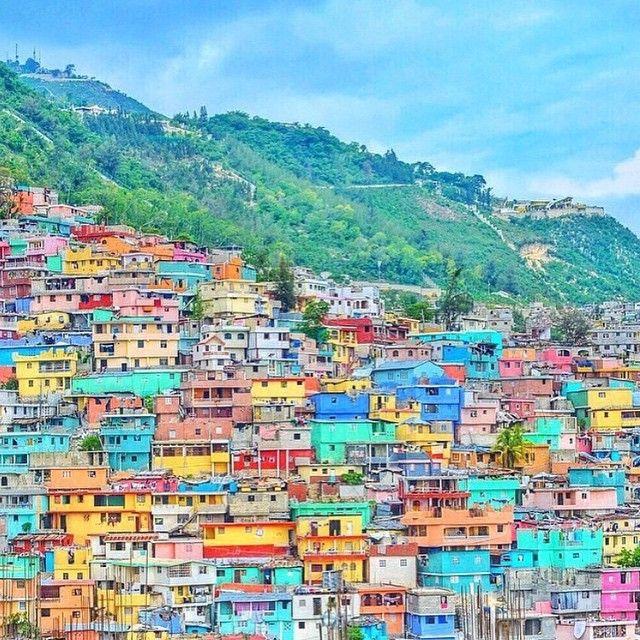 """Beyond the mountain is another mountain"" - Haitian Proverb    Jolousie, Haiti  @missjetsetter #Haiti #Mountains #Color"
