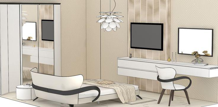 ДИЗАЙН-ПРОЕКТ Фабрика «Актуальный Дизайн» предоставляет для клиентов услуги профессионального дизайнера: для работы дизайнеру необходимо предоставить план помещения со всеми размерами, с указанием расположения окон и дверей. На плане схематично обозначить пожелания по ассортименту мебели, которую надо будет разместить в данном помещении и прописать все требования клиента (ассортимент, цвет, материал )  Срок изготовления проекта до 3 рабочих дней Клиенту будет представлено два варианта…