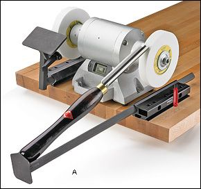 Wolverine Sharpening System and Accessories - Woodworking