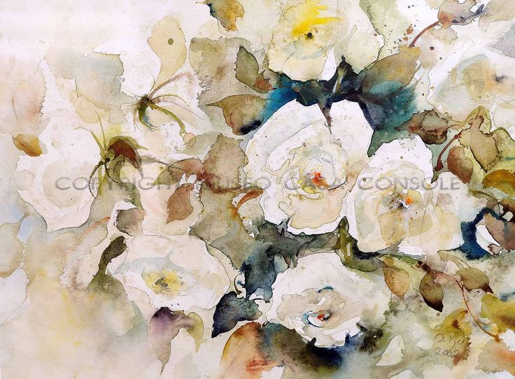 Ingrid Buchthel - Rose bianche