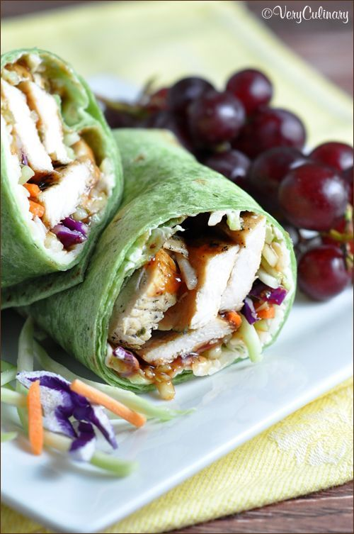 Use leftover grilled or baked chicken to make these tasty and easy barbecue sandwich wraps. Ready in 10 minutes!
