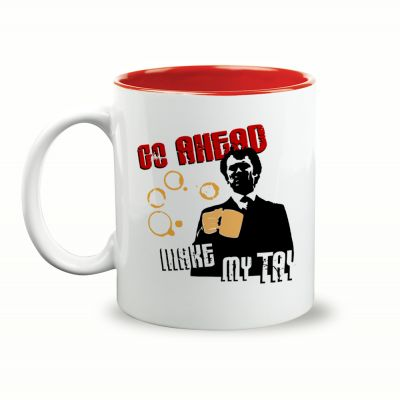 Go Ahead Make My Tay Gift Mug & Box by HairyBaby.com